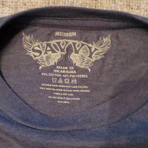 Savvy Shirts - Pillsbury Doughboy Poke Me Men's med t-shirt blue